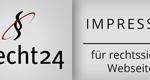 eRecht24.de Siegel Impressum