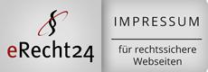 eRecht24.de - Siegel Impressum