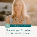 Mantrasingen Workshop in Erftstadt mit Yvonne Birkel